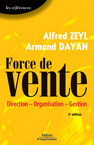 9782708128194: Force de vente : Direction - Organisation - Gestion