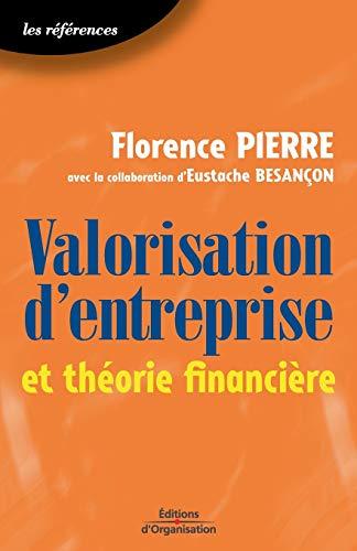 9782708129801: Valorisation d'entreprise et théorie financière (French Edition)