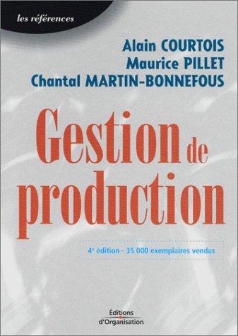 9782708129863: Gestion de production