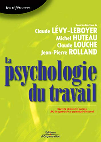 9782708129870: La Psychologie du travail