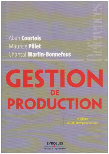 9782708136489: Gestion de production (French Edition)