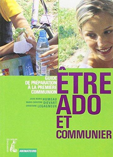 Etre Ado Et Communier (Animateur)