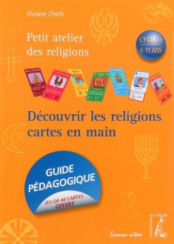 9782708239357: D�couvrir les religions cartes en mains : Cycle 3, 8-11 ans
