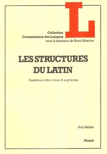 9782708404687: Les structures du latin