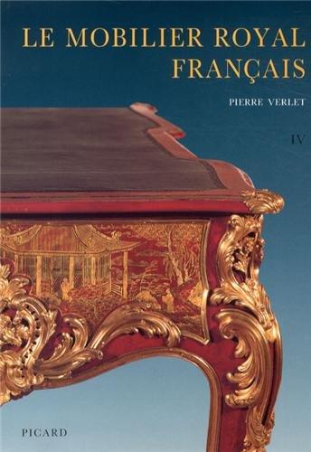 """""""le mobilier royal francais t.4 ; meubles de la couronne conserves en europe et aux etats unis..."""
