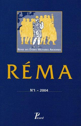 9782708407183: revue des etudes militaires anciennes t.1