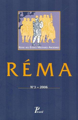 Revue des Etudes Militaires Anciennes. N 3. Sous la Direction de Yann le Bohec. (French Edition): ...