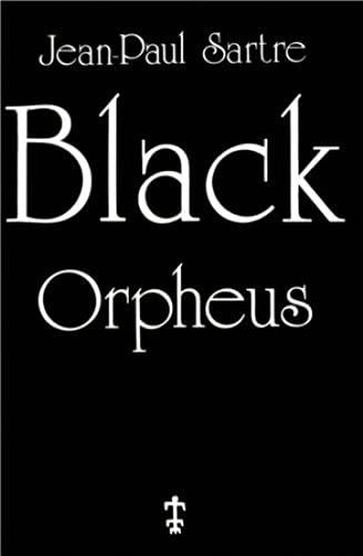 9782708701335: Black Orpheus : Edition en langue anglaise