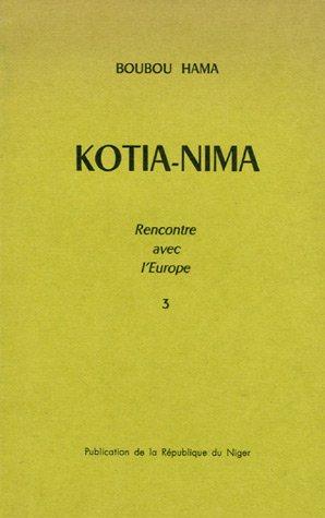 9782708702288: Kotia-Nima (French Edition)