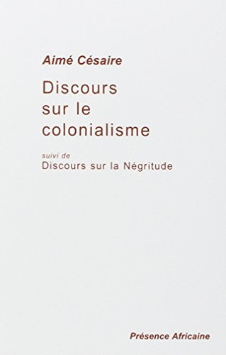 9782708705319: Discours sur le colonialisme, suivi de�: Discours sur la N�gritude