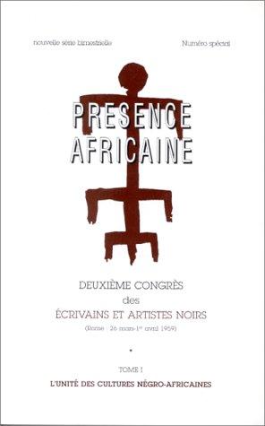 9782708706538: Deuxième congrès des écrivains et artistes noirs: Rome, 26 mars-1er avril 1959