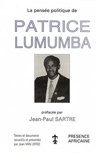 9782708706552: la pensée politique de Patrice Lumumba