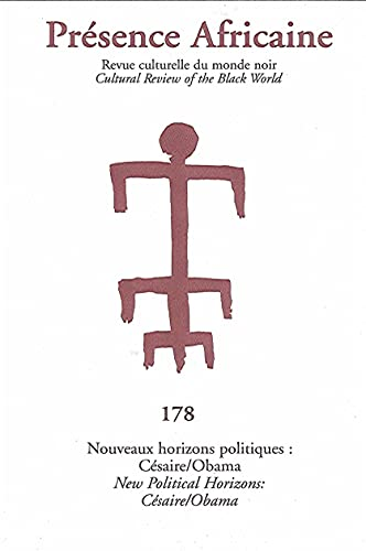 9782708708006: Revue Presence Africaine N 178 - Cesaire /Obama