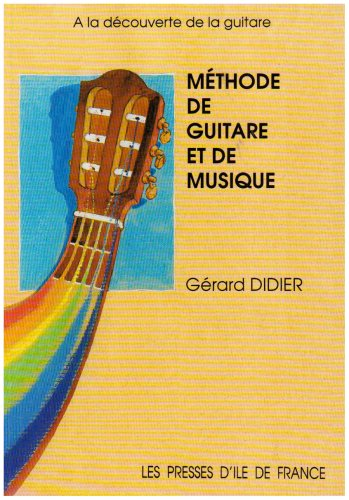 9782708880146: Méthode de guitare et de musique