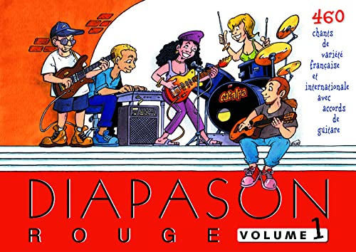 Diapason Rouge, volume 1 : Carnet de: Collectif