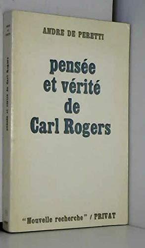 9782708914322: Pensée et vérité de Carl Rogers