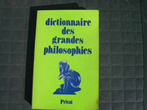 9782708922853: Dictionnaire des grandes philosophies