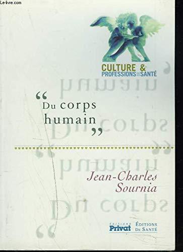 Du corps humain: Sournia Jean-Charles