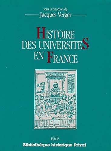 Histoire des universités en France.: VERGER, JACQUES. (ed.).