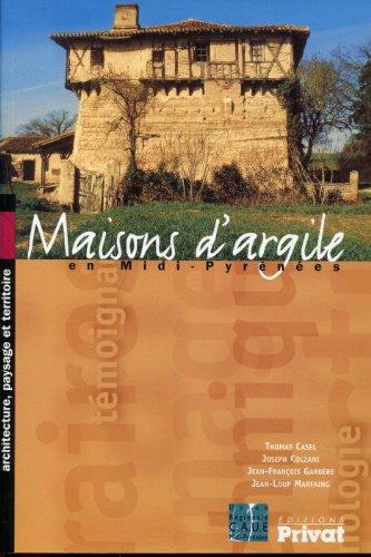 9782708971202: Maisons d'argile en Midi-Pyr�n�es