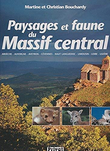 9782708990791: Paysages et faune du Massif central