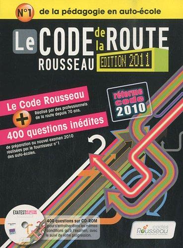 9782709511513: Code Rousseau De La Route 2011 Fl (French Edition)