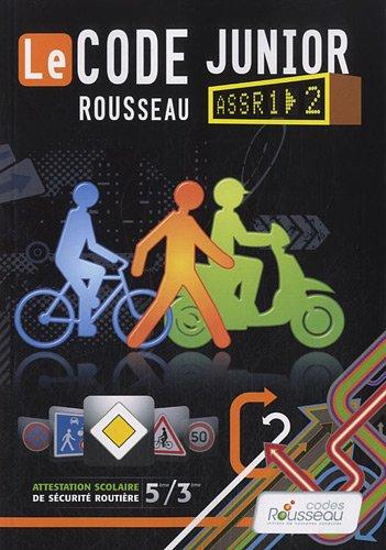 9782709512244: Code Rousseau de la Route Junior (ROUSS.CODE JUNI)