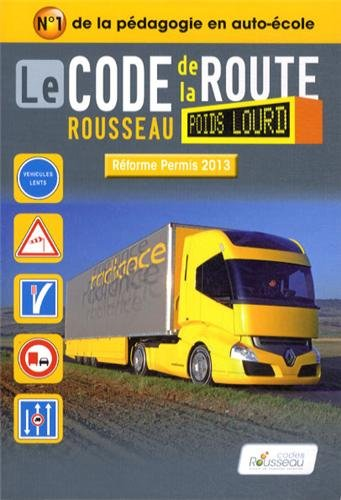 9782709512435: Code Rousseau poids lourd 2013