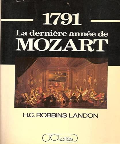 9782709606820: 1971 la derniere annee de mozart