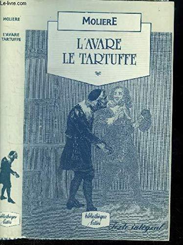 9782709607353: L'Avare - Le Tartuffe