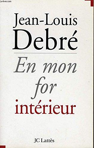 9782709618038: En mon for int�rieur