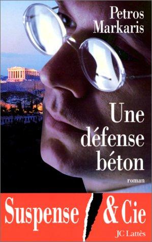 9782709620505: Une Défense Béton