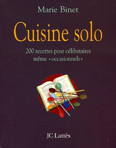 9782709626811: La cuisine solo