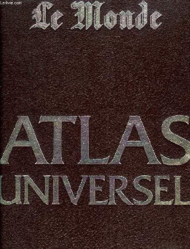 9782709800051: Atlas universel (French Edition)