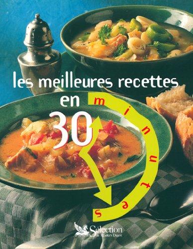 9782709815635: Les meilleures recettes en 30 minutes
