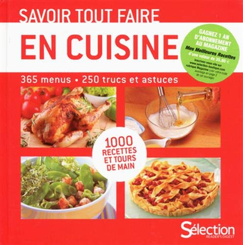 Savoir tout faire en cuisine: Girard Sylvie