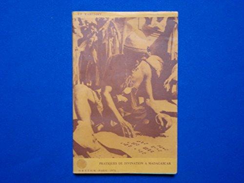 9782709904056: Pratiques de divination à Madagascar : J.F. Rabedimy (Travaux et documents de l'ORSTOM)