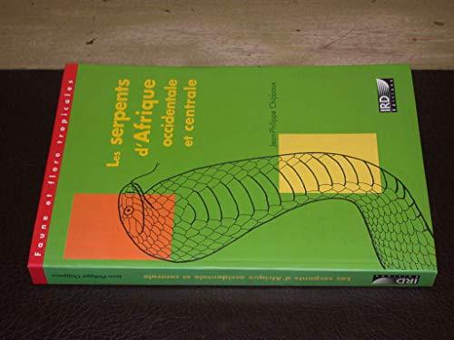 9782709914390: Les Serpents d'Afrique Occidentale et Centrale.