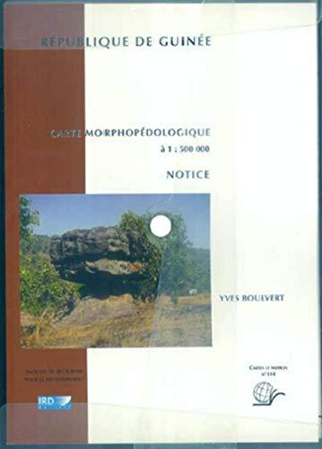 Carte morphopédologique de la république de Guinée (French ...