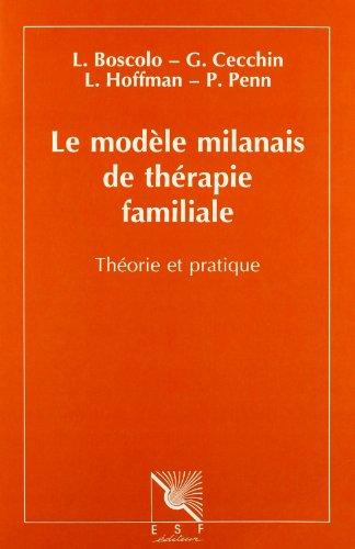 9782710109662: Le Modèle milanais de thérapie familiale