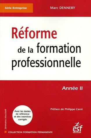 9782710117308: reforme de la formation professionnelle