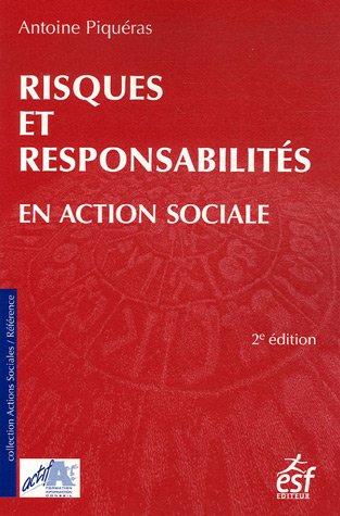 9782710118305: Risques et responsabilit� en action sociale