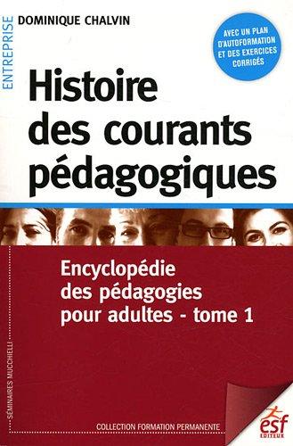 9782710123989: histoire des courants pedagogiques