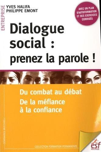 DIALOGUE SOCIAL : PRENEZ LA PAROLE: HALIFA YVES