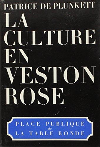 9782710301233: La culture en veston rose