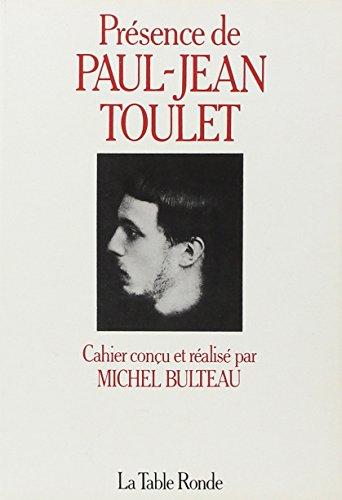 Prà sence de Paul-Jean Toulet [Paperback] [May: Collectifs