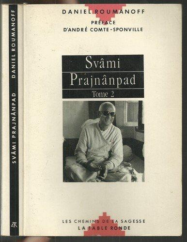 9782710304364: Sv�mi Prajn�npad, tome 2 : Un ma�tre contemporain