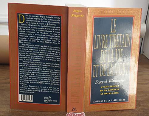 9782710305934: Le livre tibétain de la vie et de la mort