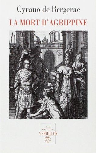 9782710307044: La mort d'Agrippine, veuve de Germanicus