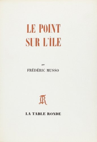 Point sur l ile (French Edition): F. Musso